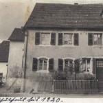 Lebacher Schulhaus bis 1820, Fotoarchiv: Susanne Leidinger